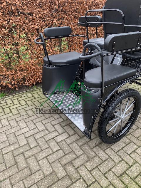 Achterkant German 23 menwagen